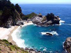 McWay Falls (rodrigolab) Tags: ocean california sea beach nature water waterfall bigsur falls juliapfeifferburns mcway thecontinuum