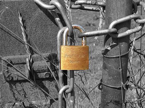 colorkey padlock