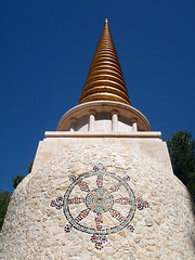Dhardo Rimpoche stupa detail 2