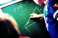 Geometry (Quixotic Pixels) Tags: kids geometry teaching chalkboard weeklygeometry