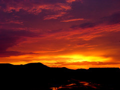 Arizona Monsoon Sunset (oybay) Tags: sunset arizona skies desert bright top20sunrisesunset stormy monsoon stunning cosmic mothernature stormyweather vistancia orangeskies 123faves 123sky 1on1sunrisesunsetsphotooftheday specsky yellowskies abigfave