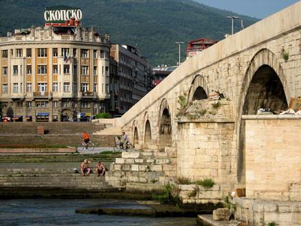Stone Bridge -- Expedition Macedonia by RichardBangsAdventures.