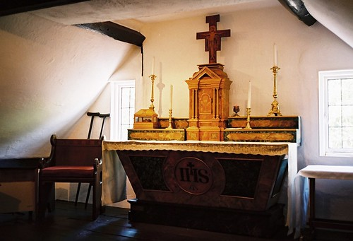West Grinstead - the secret chapel