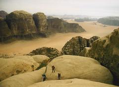 Jebel Rum descent - by polandeze