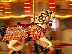 Carousel Horse (recyclethis) Tags: horse motion blur carousel explore moore interestingness48 cm079 impressedbeauty evanmoore