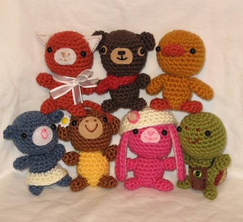 Tiny Ami Crochet Pattern by anapaulaoli.