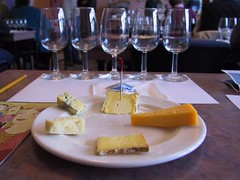 Wine and cheese tasting @ Strewn Winery