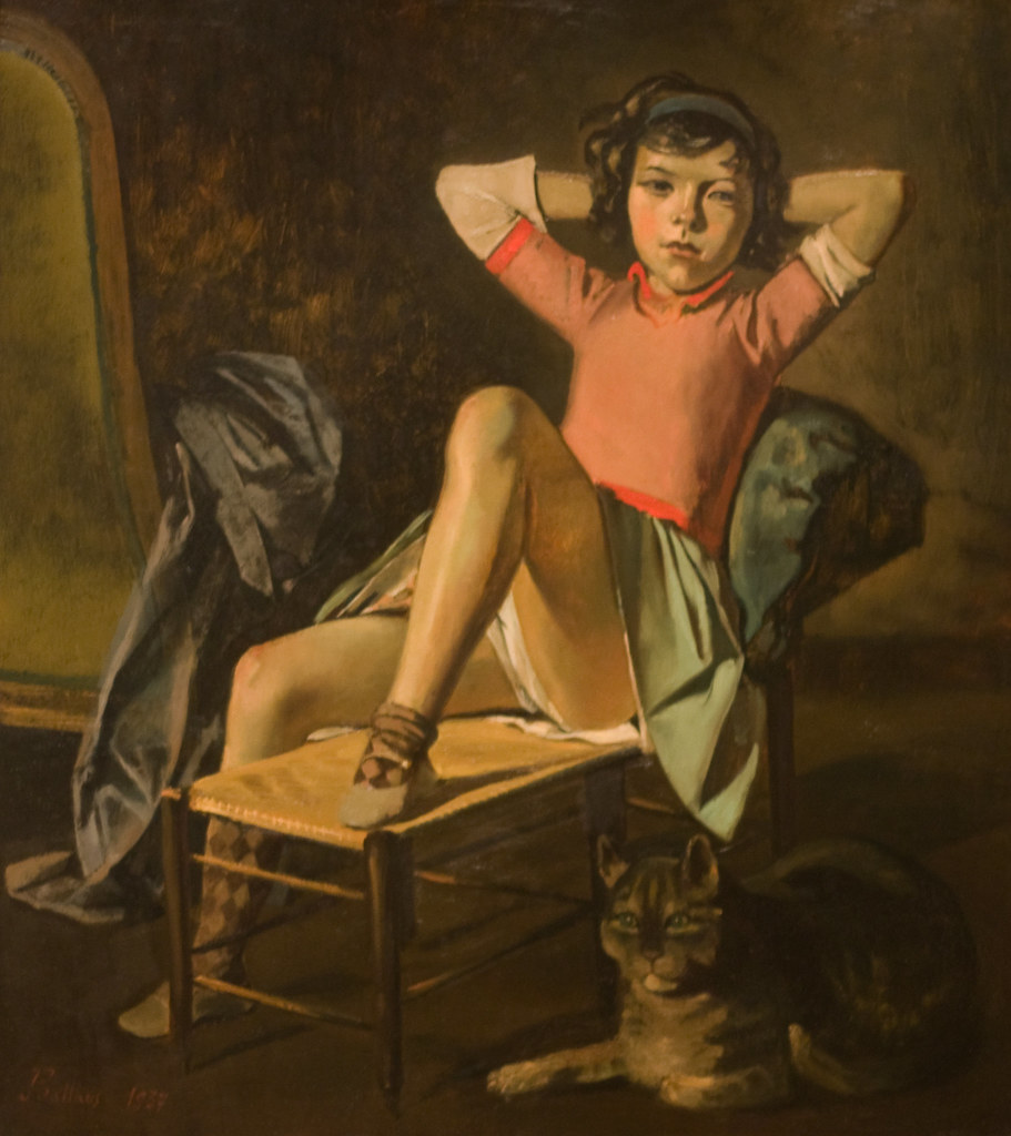 巴尔蒂斯Balthus(法国1908-2001)作品集1 - 刘懿工作室 - 刘懿工作室 YI LIU STUDIO