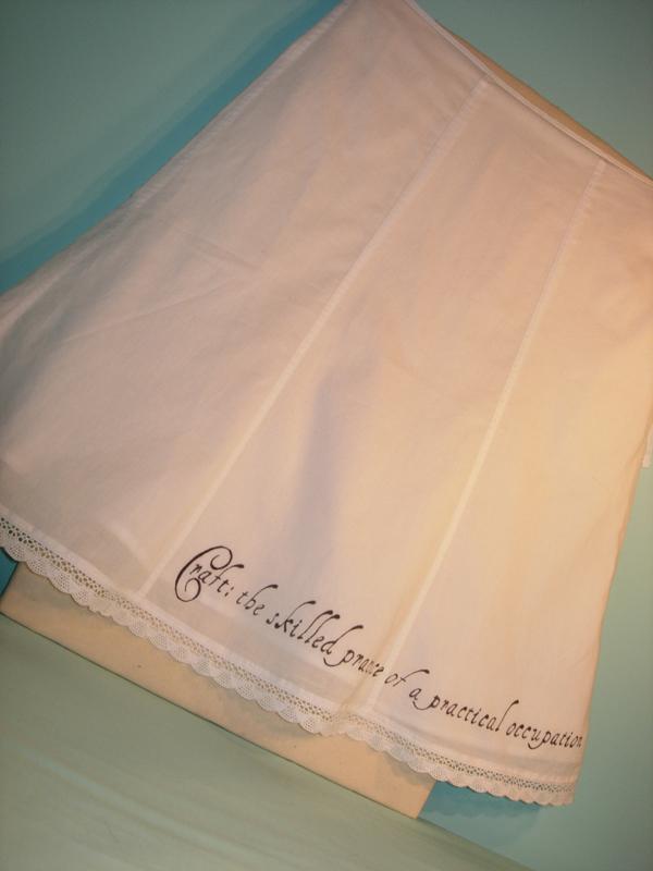 Craft: Skirt