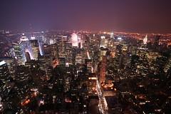 gotham city (view-askew) Tags: nyc newyorkcity newyork manhattan empirestatebuilding utataview