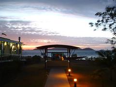TI Hospital Sunset