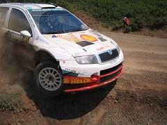 Rally Acropolis 2005 - Skoda Fabia