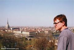 Looking across Torino