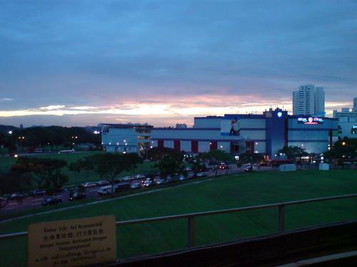 Sunset @ Jurong East MRT