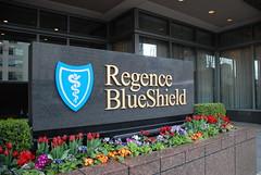 Regence BlueShield Sign