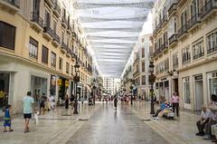 Calle Larios (j_perezv) Tags: street españa calle andalucía monumentos monuments historia málaga larios callelarios