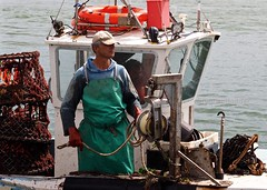 LandingTheCatch (Hodd1350) Tags: sea christchurch chains fishermen working olympus rope quay dorset lobsterpots mudeford lifesavers sigmalens micro43rds oem1