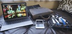 Go Bag 8-23-2015 (soulreaver99) Tags: apple mac workspace iphone waterfield setups waterfielddesigns sfbags macbook gridit macbookretina
