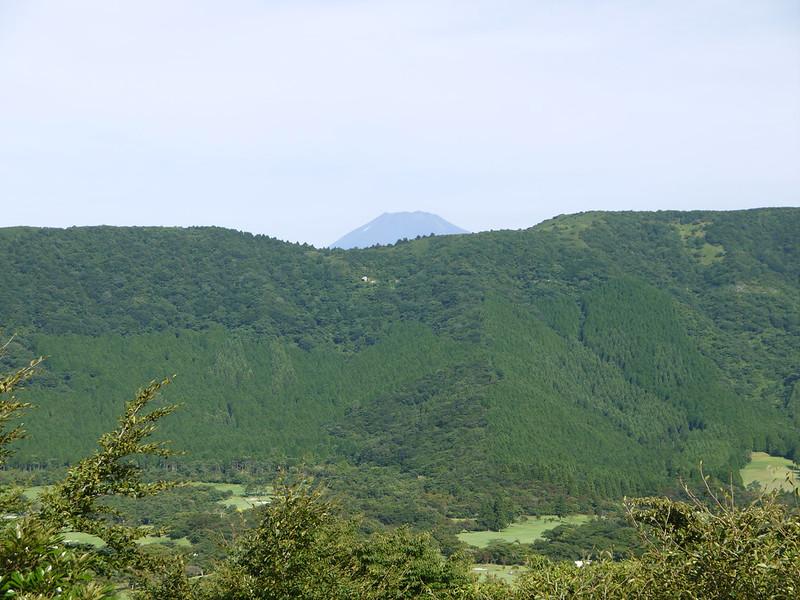 遠眺富士山