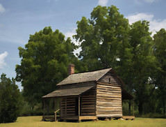 Robert Scruggs' House, Battle of Cowpens National Battlefield, South Carolina, USA  2015 Patrick Alan Swigart, Gone to Look for America (Patrick Alan Swigart) Tags: usa house robert sc look alan america for south pat patrick battle gone national carolina battlefield scruggs 2015 cowpens swigart gonetolookforamerica