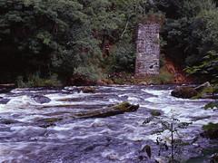Afon Llugwy (ss9679) Tags: abandoned 120 film wales analog mediumformat river landscape 645 kodak bronica epson betwsycoed expired ektachrome e100vs afon etrs zenza 4180 llugwy
