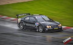 CLK-DTM (Lummi Photography) Tags: salzburg wet car rain mercedes benz austria racing dtm trackday clk sportcar salzburgring histocup