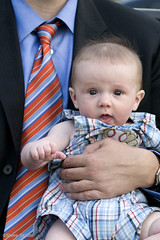 Big Hand (Spike's Shoes) Tags: city blue 2 summer two people orange usa baby white man male men boys minnesota vertical businessman shirt kids america children outside person daylight holding babies child hand close unitedstates affection outdoor stripes united steve north stpaul tie suit american daytime aged twincities middle adults infants youngster mn tender caucasian skjold cs23