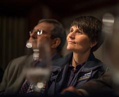 Halfway Through a Year in Space (NHQ201509140004) (NASA HQ PHOTO) Tags: usa dc washington nasa nationalpressclub billingalls samanthacristoforetti