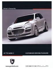 Gemballa GT 750 Aero 3, 2007 (Runabout63) Tags: porsche advert gt aero gemballa