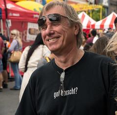 Borscht.. Just like baba (grandma) made it (Bob (sideshow015)) Tags: street party portrait toronto ontario festival nikon funny annual ukrainian drole bloorst d7100