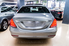 Mercedes - Benz Clase S 350 BT ( w222 ) - Plata Paladio - Piel Negra