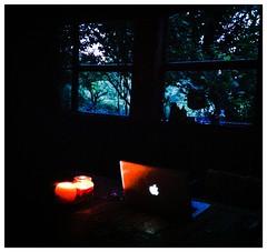 "Coffee break (Jerzy Durczak (a.k.a."" jurek d."")) Tags: apple computer evening mac candle laptop"