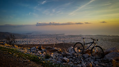 MTB Ride (Imittos mountain) (Manolis Magganaris Photography) Tags: sunset cycling athens greece mtb ymittos flickrunitedaward