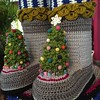 2015-10-03 15.35.43 (The Crochet Crowd®) Tags: party crochet mikey exhibit yarn nutcracker artistry freeform caron simplysoft creativfestival yarnbomb crochetcrowd crochetnutcracker crochetstatue