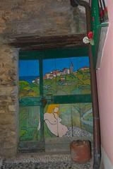 Valloria (070) (Pier Romano) Tags: doors painted liguria porte imperia artisti dipinte valloria dolcedo