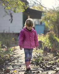 осеннее настроение (monorail_kz) Tags: autumn girl kid october mood child sad helios442