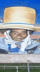 """Fragmento de el Proyecto Murales """" Rescatando su Memoria """"Sindicato N 6 de Codelco. (""""YONO"""") Tags: chile 6 colors sarah de skinny mural montana paint y fat pueblo caps n teo el spray cap cielo pato linares salvador abierto su museo cans base pueblos cultural memoria yono sindicato minero ecos deportivo proyecto rancagua siskin regin stgo 2015 complejo peumo desie 3  mofly codelco rescatando acrlica etnias originarios pigmentos collas raaul"""
