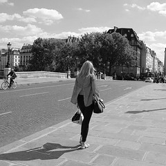 (tugasgm) Tags: life bridge paris france girl fr parisian