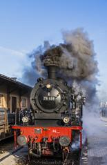 Steam Locomotive DB 78 468 (www.da-lichtbilder.com) Tags: railroad eisenbahn steam locomotive 78 locomotion dampflok lokomotive 2015 dampf gütersloh guetersloh 468 twe teutoburgerwaldeisenbahn 78468 hövelhof eisenbahntradition hoevelhof nikolausexpress