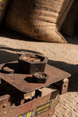 Scales, Chanoud (ghostwheel_in_shadow) Tags: india asia scales weight tool rajasthan weighing measuring chanoud