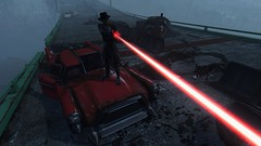 Fallout4- Exterminate ... (tend2it) Tags: game pc screenshot energy gun glow 4 overpass nuclear xbox beam rpg weapon freeway pistol future laser apocalyptic fallout firearm injector postprocessing ps4 reshade fallout4 screenarchery