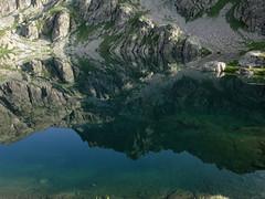 Lac Vert (angelo.cda) Tags: bridge nature montagne claire eau noir sony lac cybershot vert bleu t parc sacr voie refuge mercantour jumeaux pche valmasque fontanalbe vallon basto aquatique casterino dschx1