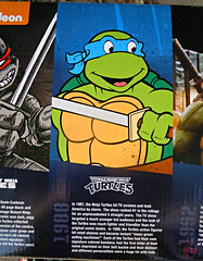 "Nickelodeon ""HISTORY OF TEENAGE MUTANT NINJA TURTLES"" FEATURING LEONARDO - Original LEONARDO /  ORIGINAL '88 LEONARDO i (( 2015 )) (tOkKa) Tags: 2005 toys comic 1988 2006 1993 1992 leonardo figures toysrus 2012 2007 teenagemutantninjaturtles tmnt nickelodeon 2014 2015 displaystand playmatestoys ninjaturtlesthenextmutation toysrusexclusive tmntfastforward toontmnt tmntmovie4 turtlemilkstudios eastmanandlairdsteenagemutantninjaturtles moviestartmnt varnerstudios toonleo paramountteenagemutantninjaturtles 4kidstmnt paramountsteenagemutantninjaturtles tmnt2003 historyofteenagemutantninjaturtlesfeaturingleonardo davearshawsky tmnt2014movie"