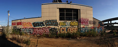 (Nomad_Vagrant) Tags: wall graffiti oakland stand slam swan close bayarea eastbay optimist edje krime renek rveng