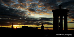 08-IMG_9483 Edinburgh Setting Sun (marinbiker 1961) Tags: edinburgh caltonhill scotland2016 sunset city spires buildings sky colour outdoors