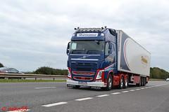 Volvo FH4 'Harrisons' reg LH60 LCH (erfmike51) Tags: volvofh4 truck artic fridgetrailer euro6 lorry harrisons