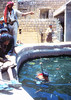 swimming lessons (wolfgangfoto) Tags: color yemen 1987 swimming lessons wolfgangfoto