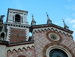 Old facade of the Sanctuary of Monte Berico (fka_sara) Tags: vicenza monteberico veneto italy renaissance italianrenaissance palladio andreapalladio basilicadimonteberico