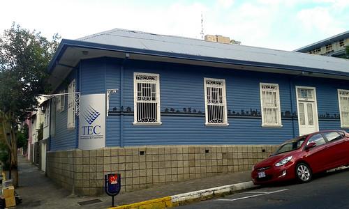 Barrio Amón: Centro Académico del Instituto Tecnológico de Costa Rica av.11, c.5/ Barrio Amón: Academic Unit of the Instituto Tecnológico de Costa Rica university 11th av., 5th st.