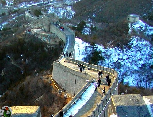 China 2003 - Great Wall at Bada Ling - Chinesische Mauer bei Bada Ling - 2003